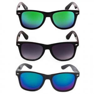 FashioNext Unisex Sports Wear 3 Sunglasses Combo