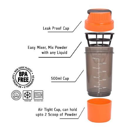 HAANS Shakeit 500 ml Shaker Best Price