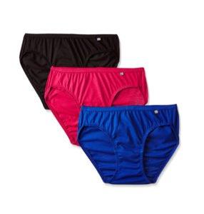Jockey Womens Cotton Bikini Pack of 3