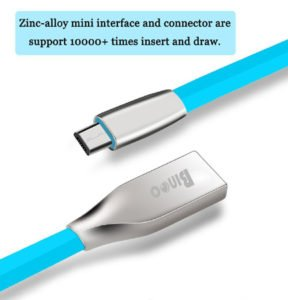 Micro USB to USB with 2.4 Amp Fast Charging