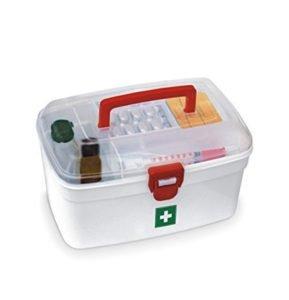 Milton Compact Portable Medical Box
