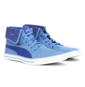 Puma Mens Blue Carme Mid IDP Sneakers