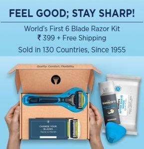 Buy World's First 6 Blade Razor Kit
