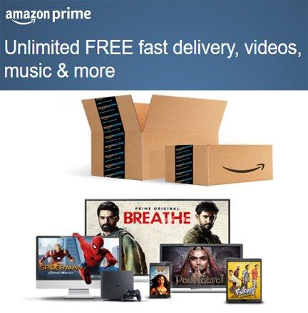 Enjoy Amazon Prime Membership for 1 Month FREE