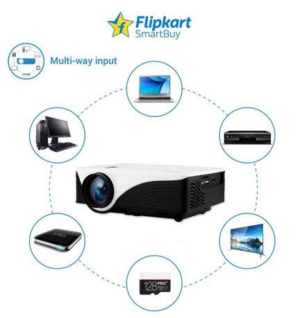 Flipkart SmartBuy Best Portable Projector