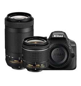 Nikon Digital SLR Camera VR Lenses Memory Card Camera Bag