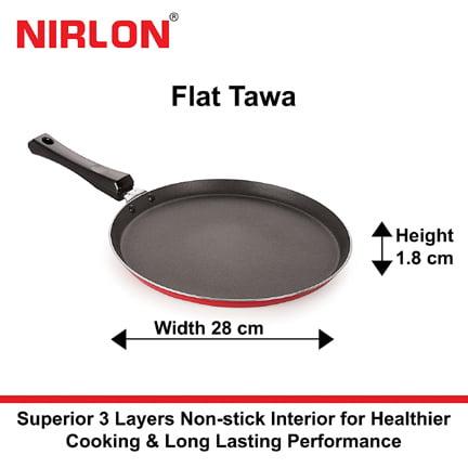 Nirlon Non Stick Aluminium Tawa