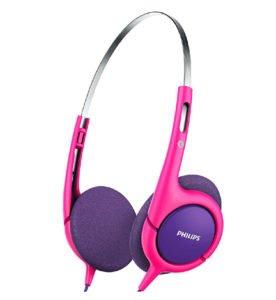 Philips SHK1031 Pink Purple Headphone