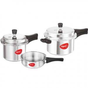 Pigeon Pressure Cookers Combo 2 L3 L5 L
