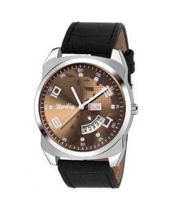 Rorlig RR 2082 Stylish Mens Day Date Watch