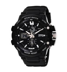 Skmei AD0990 Silver Sports Analog Watch