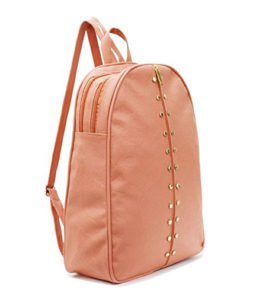 Typify Studded Leather Backpack for Women Girls