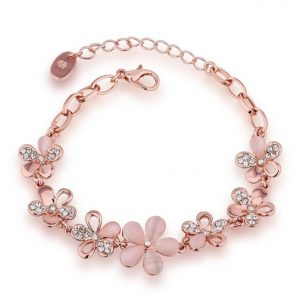 YouBella Gold Plated Charm Bracelet for Women
