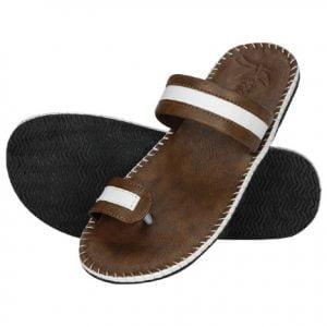 Kraasa Stylish Mens Leather Slippers