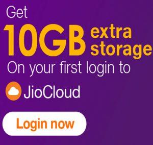 Get Upto 50GB storage in JioCloud