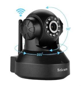 Wireless HD Ip Wi Fi CCTV Indoor Security Camera