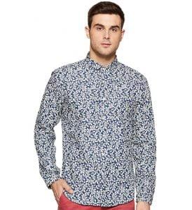 Huge Discount on Van Huesan Men's Printed Casual Shirts