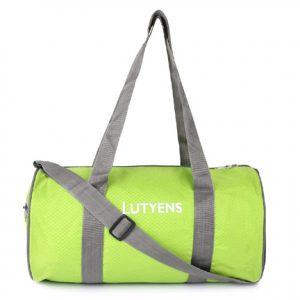 Lutyens Green Grey Smart Multiuse 21 Ltr. Gym bag