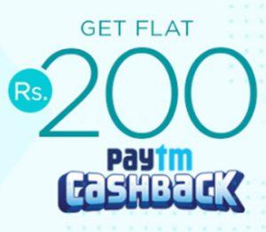 Get Rs. 200 Paytm Cashback on Netmeds