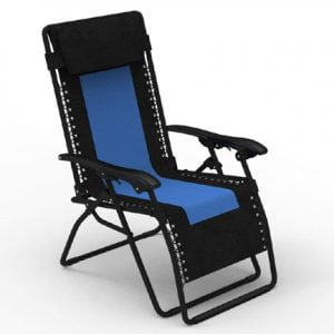 Krabi Folding Outdoor Recliner Chair India by Forzza