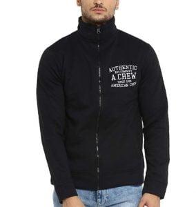 AMERICAN CREW Men's Cotton Fleece Jacket Lowest Ever