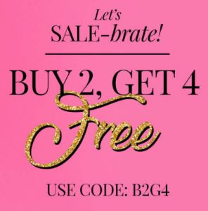 Pretty Secrets Sale ; Buy 2 Get 4 Products FREE