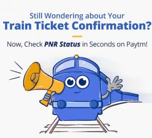 Book Train Tickets Online or Check PNR Statues Easily on Paytm