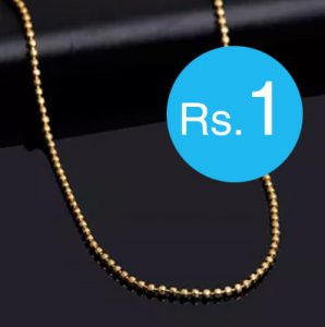 Buy Jewellery at Rs. 1 with Voyalla Special Sale