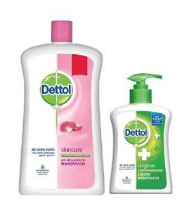 Free Dettol Handwash wotj Dettol Liquid Handwash Jar