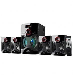 Zebronics 4.1 Channel Multimedia Speakers on Huge Discount