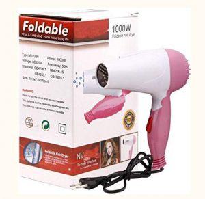 Clothsfab 1000W Professional Stylish Foldable Hair Dryer