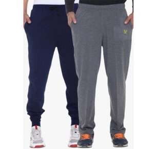 2 Vimal Braned Trackpants at Special Price on Jabong