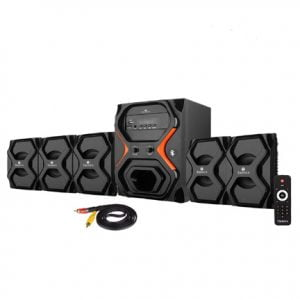5.1 Bluetooth Home Audio Speaker with Bundle Features