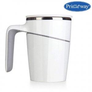 Lowest Primeway Insulated Suction Plastic Coffee Mug 470ml