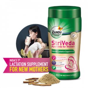 Zandu StriVeda Lactation Supplement Free Sample
