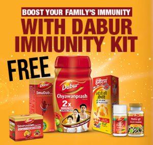 Get Free Dabur Immunity Kit & Boost Your Immunity Today