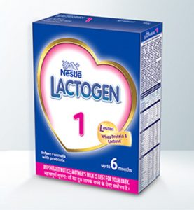 Lactogen Stage 1 Infant Formula Powder by Nestle at Best Price