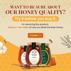 Get Free Sample of EIWA Honey 55gms