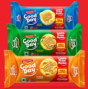 Win Laptop Every Hour With Good Day Buiscuits Home Pack