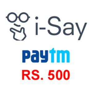 Get Assured Rs. 500 Paytm Cas with Short Surveys