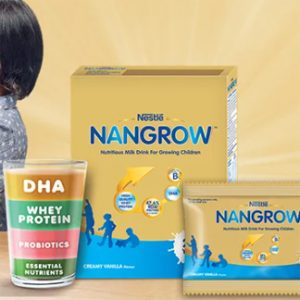 Get Free Sample of Nestle Nangrow Nutritious Milk Drink