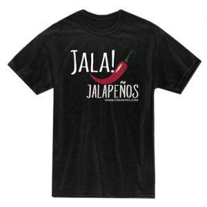 Get A Free T-Shirt Sample of Jalapenos
