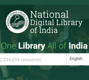 Get Free Educational E-Books with National Digital Library of India