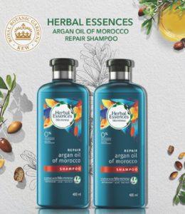 Get Free Sample P&G Product Herbal Essences Argan Oil Shampoo