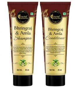 Get Free Sample of Bhringraj & Amla Hair Shampoo and Conditioner