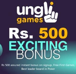 Just Sign Up and Get Assured Rs. 500 Instant Bonus
