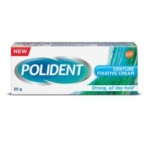 Get Free Sample of 20g Polident Denture Fixative Cream